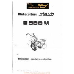 Staub 5000 Motoculteurs
