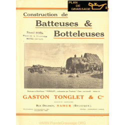 Tonglet Batteuses Botteleuses