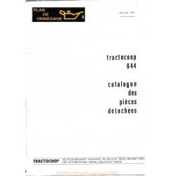 Tractocoop 644 Pieces 1981