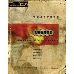 Uranus Tvd Notice Entretien Chenillards