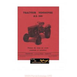 Vendeuvre As 500 Tracteur