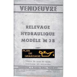 Vendeuvre M3b Notice
