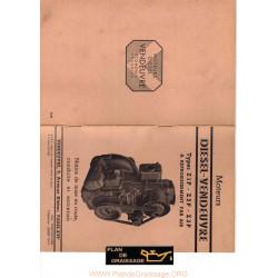Vendeuvre Z1p Z2p Z3p Moteur Diesel