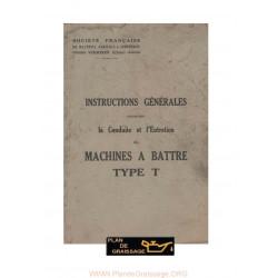 Vierzon Type T Machines A Battre