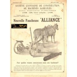 Wood Acier Alliane Faucheuse