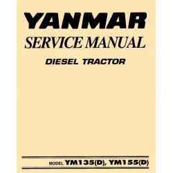 Yanmar Ym 135 155 Atelier