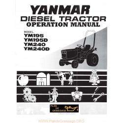 Yanmar Ym 195 240 D