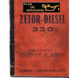 Zetor 330 Notice