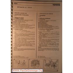 Aisan Toyota Tersel Gl 1300 1979 1982 Carburator