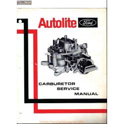 Autolite Ford Service Manual 1970