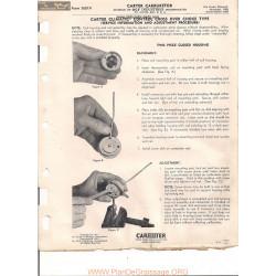 Carter 1657a Choke Adjustment 1955 1956