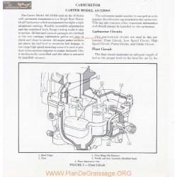 Carter As 3206s Carburetor