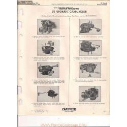 Carter Ut Manual 3525 Updraft 1949
