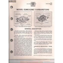 Delco Rochester E2me E2mc Dualjet Manual