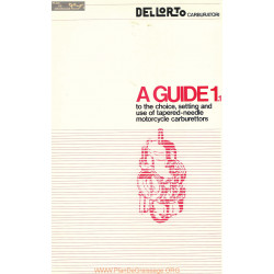Dellorto Carburettor Guide 11 Motorcycle