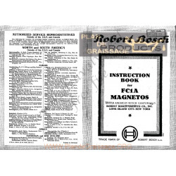 General Bosch Fc1a Instruction Book Us