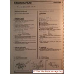 Hitachi Dah Nissan Datsun Laurel C31 2000 2400 Carburator