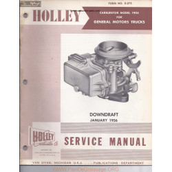 Holley 1904 Manual 1956