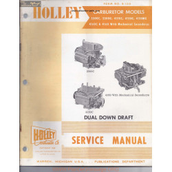 Holley 2300 4160 C Mg Rebuild