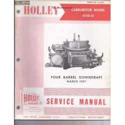 Holley 4150 G Four Barrel Downdraft 1957