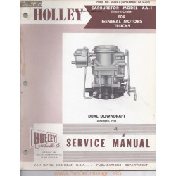 Holley Aa 1 Dual Downdraft 1955