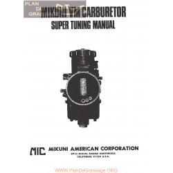 Mikuni Vm Carburador Ingles