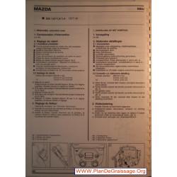 Nikki Mazda 323 1000 1300 1400 Carburator