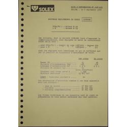 Solex 26 35 Csic Citroen Visa Ln M29 Nd518ds