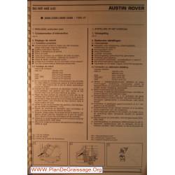 Su Hif 44e Austin Rover 2000 2300 2600 3500 Carburator