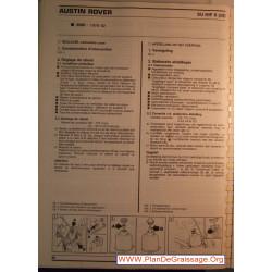 Su Hif 6 Austin Rover 3500 Carburator