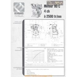 Bernard 110 C 4ch Techniques Moteur