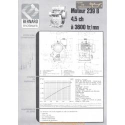 Bernard 239 B 4 5ch Techniques Moteur