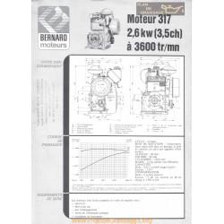 Bernard 317 3 5ch Techniques Moteur