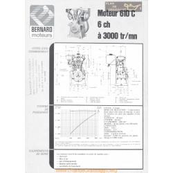 Bernard 610 C 6ch Techniques Moteur