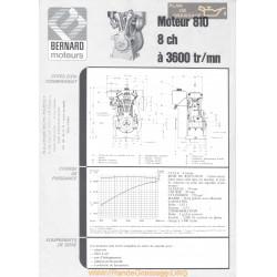 Bernard 810 8ch Techniques Moteur