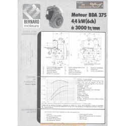 Bernard Bda 375 6ch Techniques Moteur
