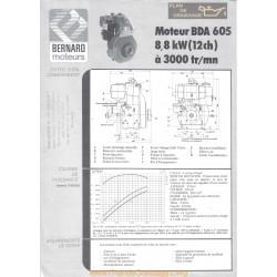 Bernard Bda 605 12ch Techniques Moteur
