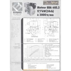 Bernard Bda 605 24ch Techniques Moteur