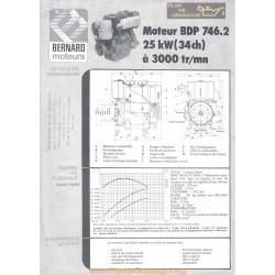 Bernard Bdp 746 34ch Techniques Moteur
