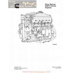 Cummins Qsk19 Series Diesel Engine Manual