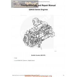 Cummins Qsk23 Series Engines Troubleshooting