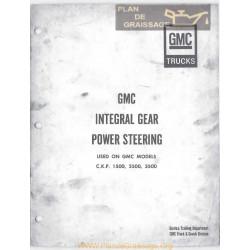 Gmc 1500 2500 3500 Power Steerin Booklet