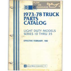 Gmc 51 Parts 1973 1978