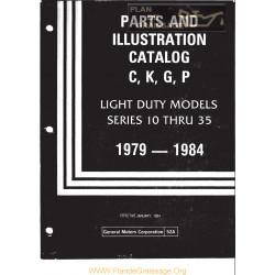Gmc 52a Illustration Catalog 1979 1984