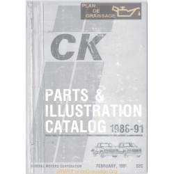 Gmc 52c Part 1 Parts Catalog 1988 1991