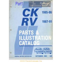 Gmc 52r Ck Rv Part Num Cat 1985 1991 Part1