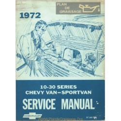 Gmc Chevrolet 10 30 Van Sportvan Sm 1972