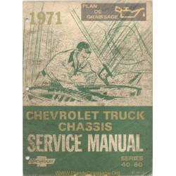 Gmc Chevrolet 40 60 Medium Duty Truck Sm 1971
