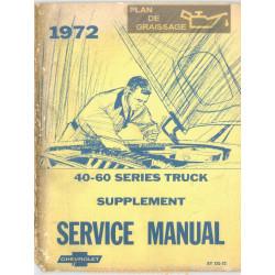 Gmc Chevrolet 40 60 Medium Duty Truck Sm Sup 1972