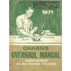 Gmc Chevrolet 40 60 Truck Overhaul Supplement 1971
